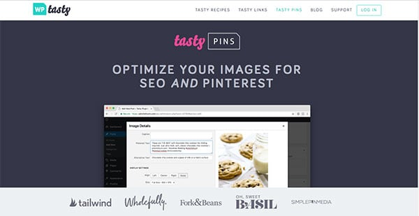 Tasty Pins From WP Tasty Plugins
